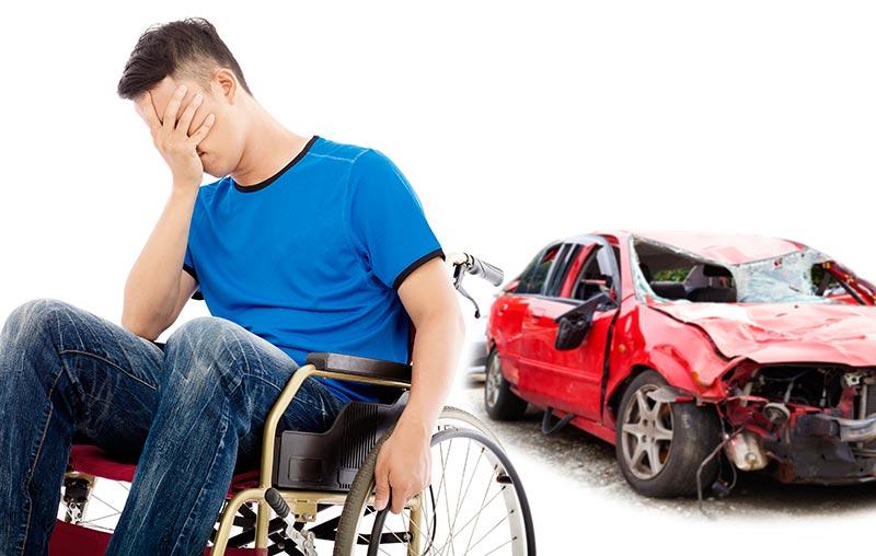 Daños personales accidente de tráfico